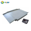 Ultra-low Double Deck Electronic Weighing Platform Floor Scales