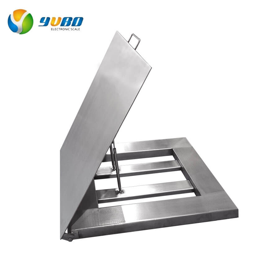 Stainless Steel Washdown Waterproof Floor Scales
